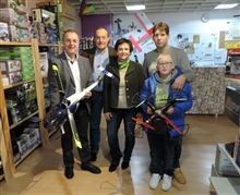 """Hoher Besuch"" bei airmoving.at"